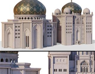 其它国外建筑模型3D模型下载