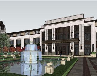 新中式会所建筑