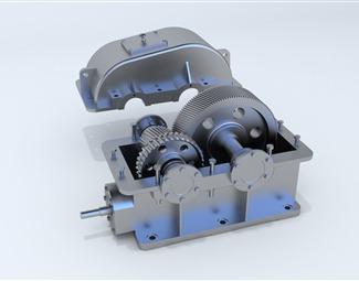现代动力装置3D模型下载