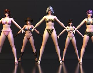 现代人模3D模型下载
