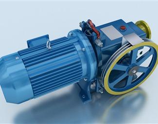 现代工业设备3D模型下载