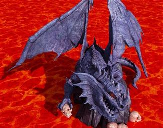 现代游戏角色模型3D模型下载