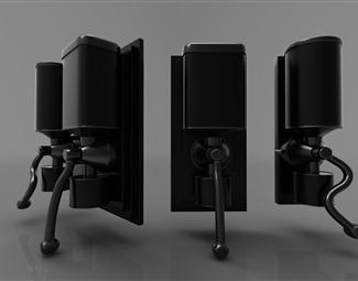 现代五金机械3D模型下载