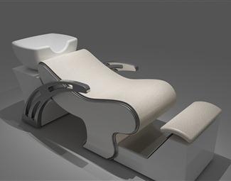 现代冲头椅3D模型下载