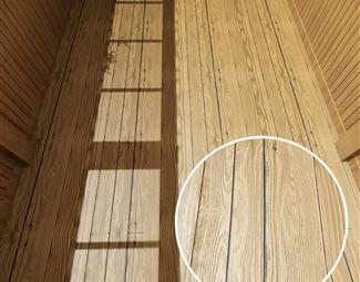 哑光木拼板Vray材质