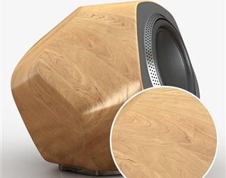 高光木纹Vray材质