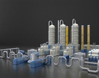 工业LOFT工业模型3D模型下载