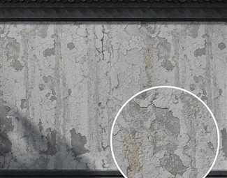 脏旧水泥墙