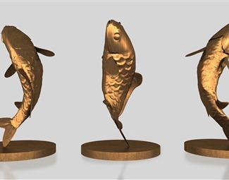 现代雕塑工艺品3D模型下载