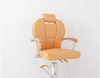 现代理发椅子3D模型下载